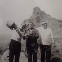 Tres Villeros(Julio, Javier, e Isidro) de farra por Taganana. Tenerife. Año 196…