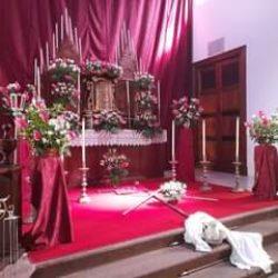 Semana Santa Taganana 2019  Monumento y retablo de la capilla del Santísimo, las…