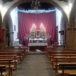 Monumento para el jueves santo iglesia de Taganana .solo se permite una persona…