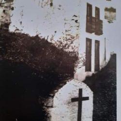 Cruz de la limera, en su antigua ubicación.
