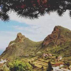 Pueblo de Taganana 2021.  Foto de Adal Izquierdo Núñez.