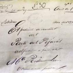 Ayuntamiento de Taganana año 1877.  Expediente de remate del pasto del Pijaral a…