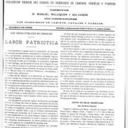 Revista de obras públicas, Madrid 3 de mayo de 1917, designación de carreteras. …