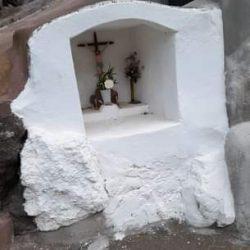 La antigua capilla del camino de la enfermería. Taganana.