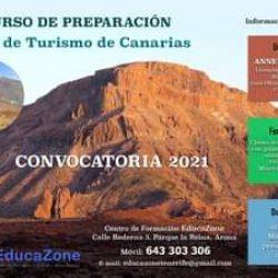 Convocatoria 2021  Curso de preparación         Guia de Turismo de Canarias  I…