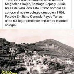 Historia: Escuela de Taganana.
