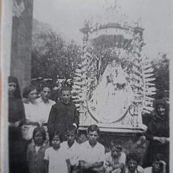 El cura párroco de Taganana D. Isidoro Cantero Andrada, la Virgen de las Nieves …