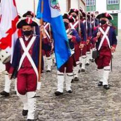 El pueblo de Taganana conmemora su Fundación con el desfile  de la IV Compañía d…