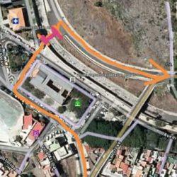 VÍA OPCIONAL que se le está proponiendo al Ayuntamiento de Santa Cruz, una vía o…