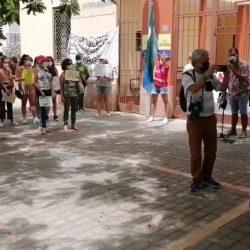 Centenares de vecinos de Anaga reclaman un segundo puente por San Andrés para n…