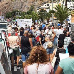 Vamos Anaga    La manifestación convocada para hoy en San Andrés ha sido un éxit…