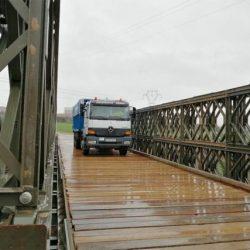 """El Ejército comenzará a montar un puente """"Bailey"""" en San Andrés"""