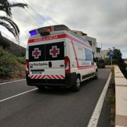 Las Ambulancias de Cruz Roja que Realizan el servicio en las playas de Taganana,…