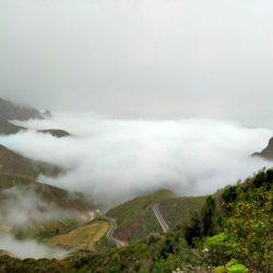 Mar de nubes Taganana.  Feliz comienzo de semana.  ·