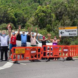 Los empresarios de la zona de Anaga, concretamente de Taganana, Almaciga y Benij…