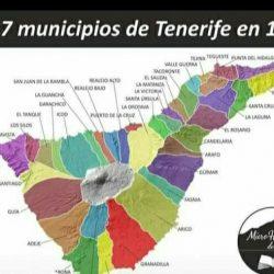 Los municipios de Tenerife en 1846,  entre ellos el antiguo municipio de Taganan…