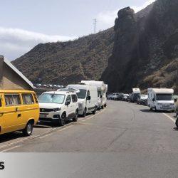 Nuevo colapso en Anaga: cerrado el paso hacia las playas por la gran afluencia de visitantes