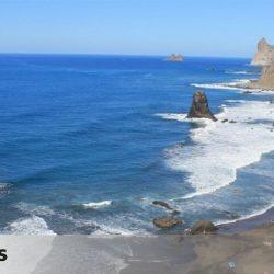 Santa Cruz de Tenerife estrena otra webcam en la playa del Benijo y cambia el enfoque de otra que apuntaba a unas viviendas