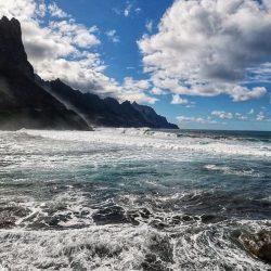 Cierran la playa de Roque de Las Bodegas