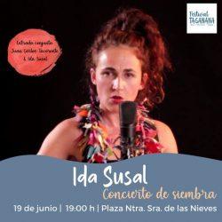 Ida Susal pondrá a bailar nuestras emociones con su 'Concierto de siembra'.   E…