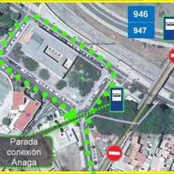 TITSA informa de que, con motivo de la incidencia en el puente de San Andrés, a…