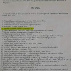 Las Asociaciones vecinales La Voz del Valle y el Centro Sociocultural Anaga de T…