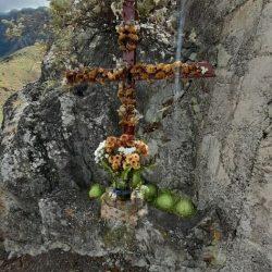 La cruz, en la Cruz Vieja, Taganana.