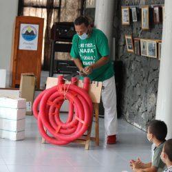 Ayer vivimos un festival precioso en Taganana con el Taller de Reciclaje Creacti…