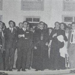 Las inaguraciones en Taganana el 18 de julio de 1968.  Ls inaguraciones comprend…