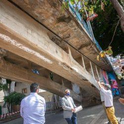 El puente de San Andrés se cierra durante cuatro semanas