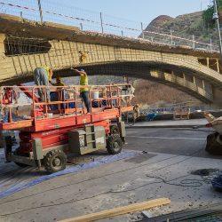 El tráfico rodado volverá al puente de San Andrés a principios de noviembre
