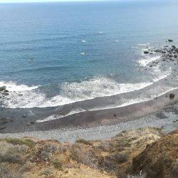 Playa de Tachero, Taganana. Mes de septiembre, mes de las bonanzas.
