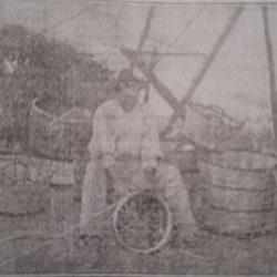 Florentin el cestero de Almaciga, año 1930.  ·