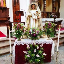 7 de octubre 2021  Festividad Ntra. Sra. Del Rosario, Taganana.  ·