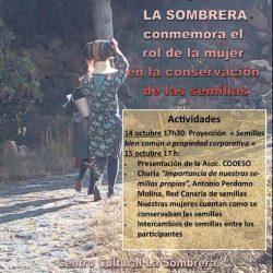 El viernes que viene estaremos hablando e intercambiando semillas en La Sombrer…