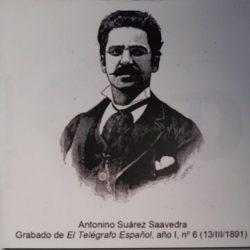 Antonio Suárez Saavedra. Telegrafista, ingeniero eléctrico y divulgador.  -Nació…