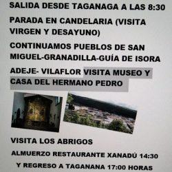 Asociación de mayores Brisas de Anaga de Taganana ( preguntar por Erundina).  · …