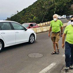 Vecinos de Anaga se movilizarán si no se resuelve el problema del tráfico